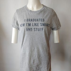 Hilarious Graphic Tee for Graduate Size Large